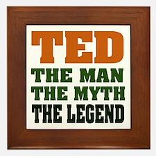 TED - The Legend Framed Tile