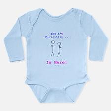 Unique Shipper Long Sleeve Infant Bodysuit