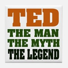 TED - The Legend Tile Coaster