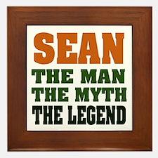 SEAN - The Legend Framed Tile