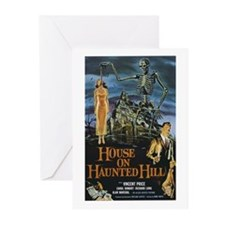 House on Haunted Hill Greeting Cards (Pk of 10)