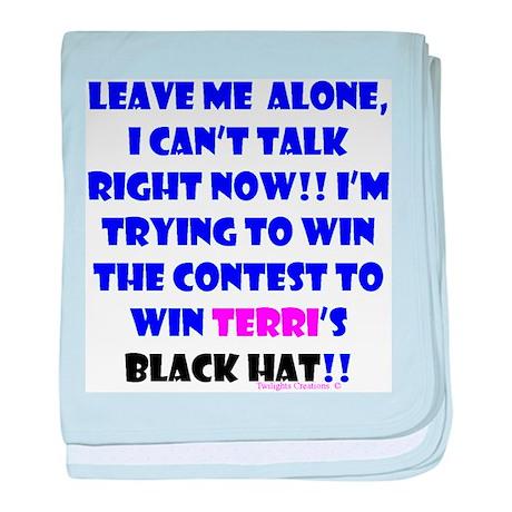 Terri Contest Win Infant Blanket