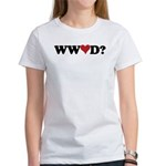 WWLD? Love Women's T-Shirt