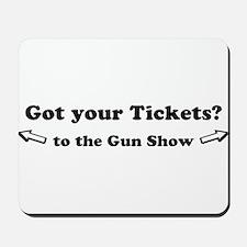 Gun Show Mousepad