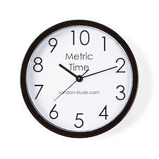 'Metric' Clock