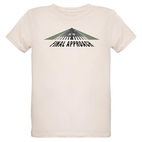 Aviation Final Approach Organic Kids T-Shirt
