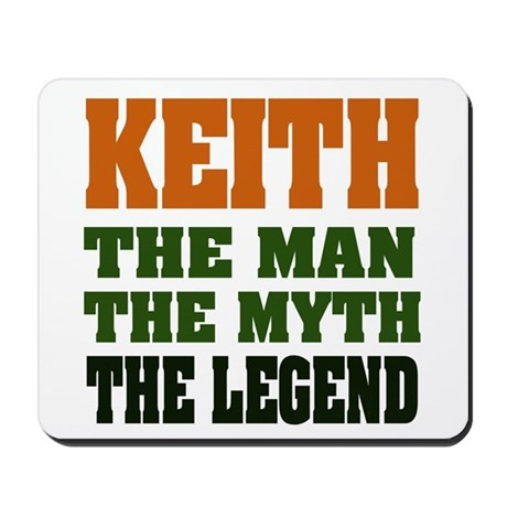 KEITH - The Legend Mousepad