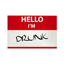 Hello! I'm Drunk Rectangle Magnet