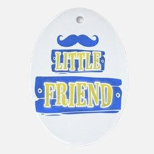 Cute Expectant father Oval Ornament