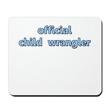 Official Child Wrangler Mousepad