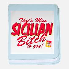 Sicilian Bitch Infant Blanket