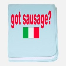 got sausage Infant Blanket