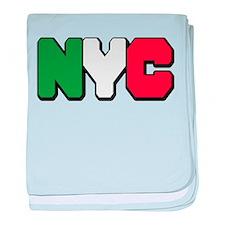 New york Italian Infant Blanket