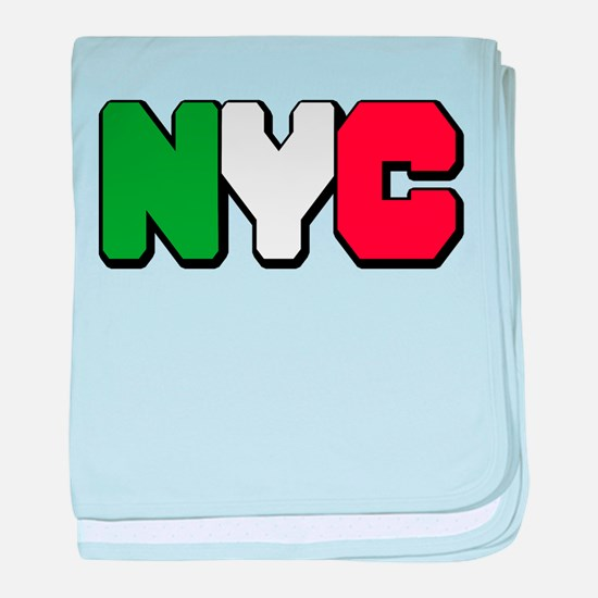 New york Italian Infant Blanket