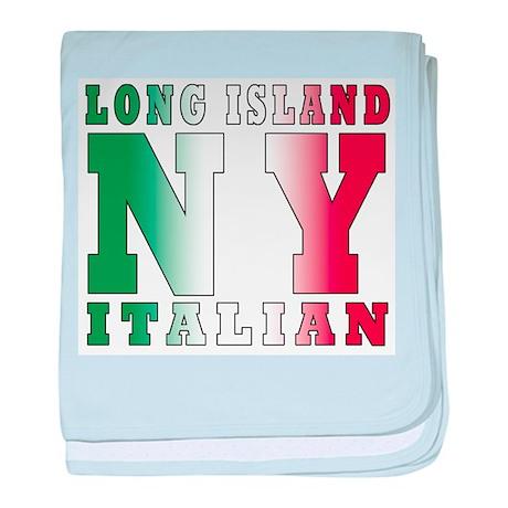 Long Island Italian Infant Blanket