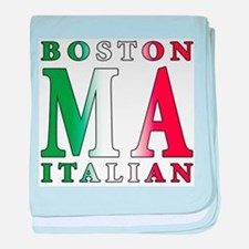 Boston Italian Infant Blanket