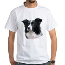 BORDER COLLIE HEAD STUDY FEMALE B/W Shirt
