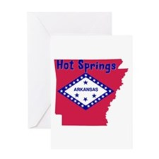 Hot Springs Greeting Card