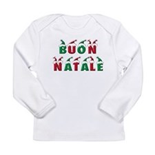 Cute Happy new year merry christmas Long Sleeve Infant T-Shirt