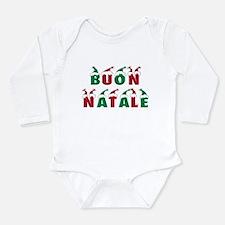 Cute Happy new year merry christmas Long Sleeve Infant Bodysuit