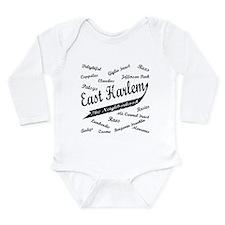 East Harlem Long Sleeve Infant Bodysuit