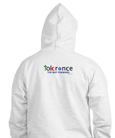 Hoodie w/ chest and back logo