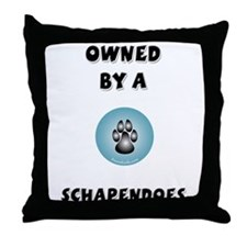 Schapendoes Throw Pillow
