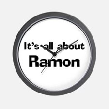 It's all about Ramon Wall Clock