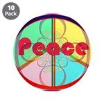 Abstract Peace Sign 3.5