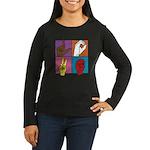 Sign Of Love Women's Long Sleeve Dark T-Shirt