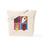 Sign Of Love Tote Bag