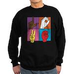 Sign Of Love Sweatshirt (dark)