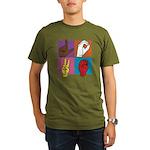 Sign Of Love Organic Men's T-Shirt (dark)