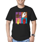 Sign Of Love Men's Fitted T-Shirt (dark)