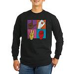 Sign Of Love Long Sleeve Dark T-Shirt