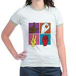 Sign Of Love Jr. Ringer T-Shirt
