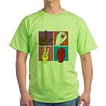 Sign Of Love Green T-Shirt