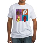 Sign Of Love Fitted T-Shirt