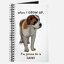 Saint Bernard puppy Journal