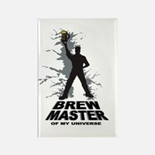 BREW MASTER Rectangle Magnet