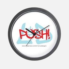 Push! Wall Clock