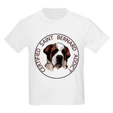 saint bernard addict Kids T-Shirt