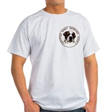 saint bernard addict Ash Grey T-Shirt