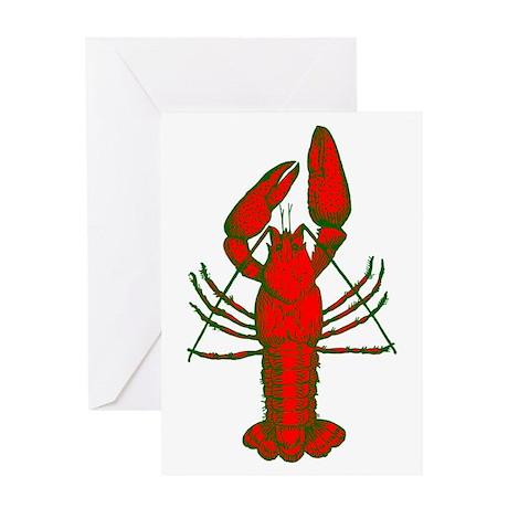 Crawfish Greeting Card