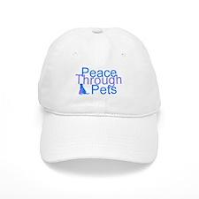 Peace Through Pets Baseball Cap