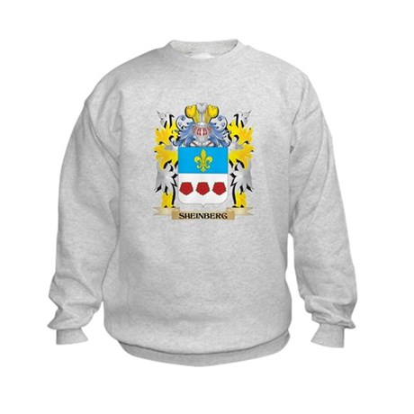 Sheinberg Family Crest - Coat of Arms Sweatshirt