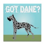 Merle Great Dane Tile Coaster