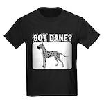 Merle Great Dane Kids Dark T-Shirt