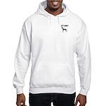 Merle Great Dane Hooded Sweatshirt