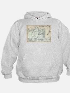 Vintage Map of East Hampton New York (1 Sweatshirt
